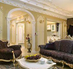 Интерьер квартиры в барочной классике