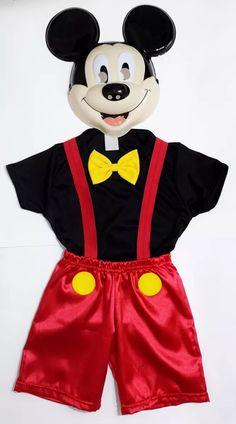 fantasia infantil mickey mouse - disney - carnaval - festas
