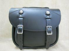 Leatherworks motorcycle leather saddlebags Pony Express Saddle Bag...