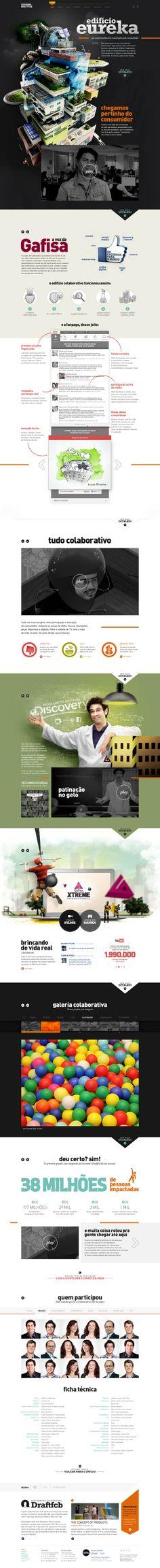 Ideas & Inspirations für Web Designs Case Gafisa - Giovanni+Draftfcb (giovannidraftfcb.com.br) Schweizer Webdesign http://www.swisswebwork.ch