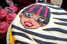 Wielki apetyt : Tort Monster High