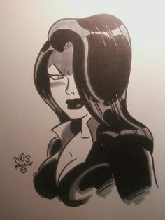 Talia al Ghul by *ChrisFaccone on deviantART