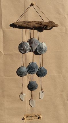 Weathered by the Sea - Driftwood, Shell, and Seaglass Wall Hanging
