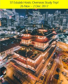 'Buddha Tooth Relic Temple, Singapore' Poster by Kiguni Hotel Marina Bay Sands, Doterra Wellness Advocate, Famous Places, Great Barrier Reef, Solo Travel, Best Funny Pictures, Great Places, Travel Photography, Drone Photography