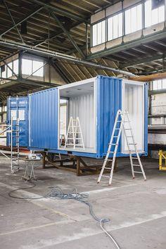 Roadshowcontainer Gegenbauer ein Seecontainer aus der Containermanufaktur | CONTAINERMANUFAKTUR BERLIN