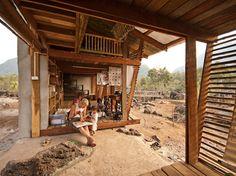 rintala eggertsson architects: library in thailand