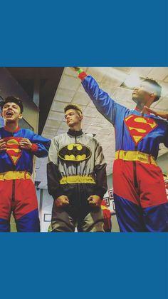 My heroes  Daniel Veda, Kevin Alston, and Devin Gordon