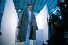 Paris Men's Fashion Week: Christophe Lemaire Fall/Winter 2015. Photo diary of Valerio Mezzanotti.