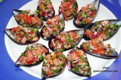 Salpicón de Mejillones, es un perfecto aperitivo con aliño para acompañar en dietas sanas, equilibradas, cenas lights y ligeras. Ideal para el verano.