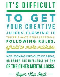 How You Can Be More Creative, mooie tekst uit serie van @LisaSonora #creativiteit
