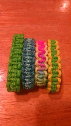 Cobra Style Paracord Bracelets