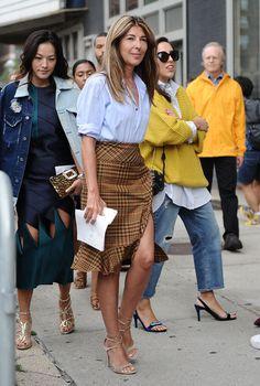 """Da Nina Garcia si può solo imparare quando si tratta di stile. Da segnare sotto la voce """"1001 modi per indossare una camicia maschile ed essere iper femminile"""".  -cosmopolitan.it"""