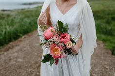 A 1940s Vintage Gown and Shades of Coral for an Elegant Wedding at Crear in Scotland | Love My Dress® UK Wedding Blog