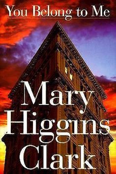 You Belong to Me by Mary Higgins Clark (1998, Hardcover, Abridged, Large Type)
