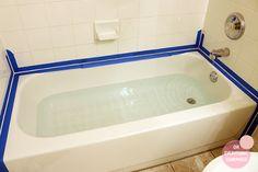 how to re caulk a bathtub, bathroom ideas, home maintenance repairs, how to