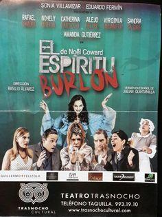 6 de Diciembre de 2014 #Teatro: El Espíritu Burlón @ Teatro Trasnocho