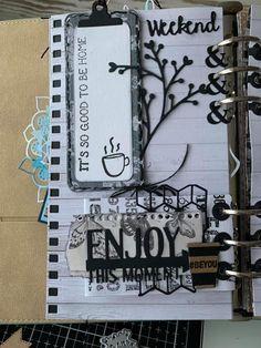 Art Journal Pages, Journal Ideas, Elizabeth Craft Designs, Rolodex, Planner Ideas, Travelers Notebook, Filofax, Happy Planner, Design Crafts