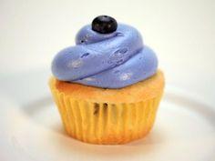 Cupcake de blueberry com cream cheese de limão (cupcake wars)