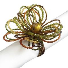 Multi-Bead Loop Napkin Ring