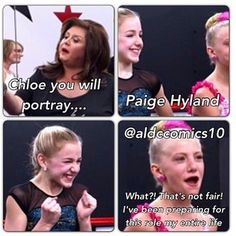 Paige would have been happy that chloe was portraying her.