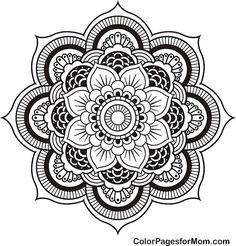 Lots and lots of free coloring pages for adults!!!