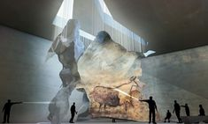 A Cavernous Museum Designed For 17,000-Year-Old Cave Paintings