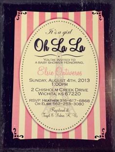 Lil miss invite