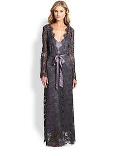 901a026e5e60 Myla - Arya Lace Long Robe Honeymoon Lingerie