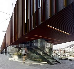 architecture norway | Food hall at the Bergen Fish market