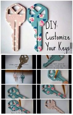 Cuatomize your keys