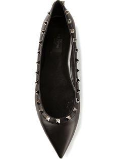 6d4bb4168 VALENTINO GARAVANI Sapatilha Preta Scarpin Preto, Sapatilhas Femininas,  Sapatos Importados, Marcas De Roupas
