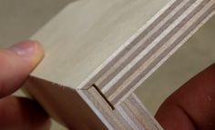 Vídeo: Técnica de carpintaria que permite dobrar chapas de madeira e criar peças tridimensionais