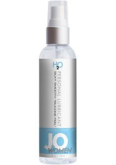 JO FOR WOMEN H2O LUBE ORIGINAL 4OZ - A luxury water based lubricant formulated especially for women to enhance pleasure, with a silky smooth feeling. Long lasting, fragrance free, super concentrated and completely latex safe. Containing no silicone its ideal for use with Tantus and other silicone toys.