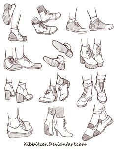 Shoes Reference Sheet 2