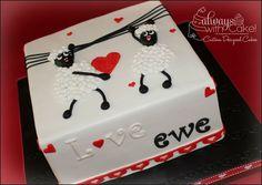 Love Ewe cake by morrisaz2004