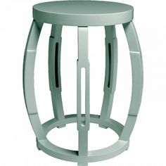 Taboret Stool or Side Table Blu PURE HOME AND BUNGALOW 5 *** MANY COLORS****
