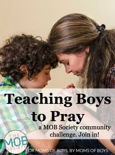 Sometimes, I get so busy that I forget I have access to the God of the universe all day long, so this practice keeps me connected when life wants to pull me away. What I realized, was that it was also a PERFECT way to teach my boys to pray!