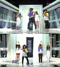 """2NE1 """"I Don't Care"""" SBS Inkigayo (07.19.09): Dr. Martens, etc."""