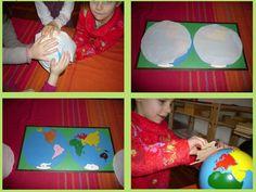 Journal Montessori: Atelier de Géographie