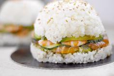 Burger bun de riz