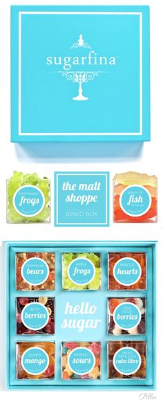 Sugarfina Bento Box candy Packaging food packaging