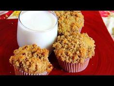 Banana Muffins Recipe Demonstration - Joyofbaking.com - YouTube