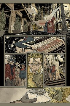 Rafael Grampá - VERTIGO / Hellblazer #250 - pg 01