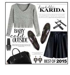 """""""The Hottest Trend of 2015 - Fratelli Karida"""" by vidrica ❤ liked on Polyvore featuring Fratelli Karida, Givenchy, OPI, Industrie, Lulu Frost, MSGM, polyvoreeditorial and bestof2015"""