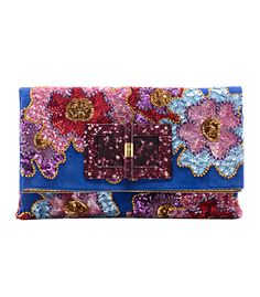 Tom Ford Mexican Flower Clutch - Sequined Evening Clutch - ShopBAZAAR