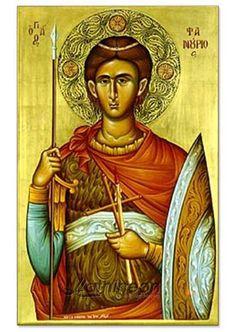 Άγιος Φανούριος ο μεγαλομάρτυς, 27 ΑΥΓ. St Fanourios 27 Aug