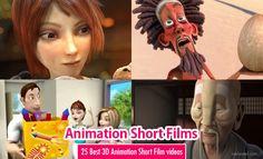 50 Best and Award Winning 3D Animation Short Films for your Inspiration. Read full article: http://webneel.com/25-best-and-award-winning-3d-animated-short-films-your-inspiration | more http://webneel.com/animation | Follow us www.pinterest.com/webneel