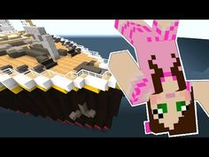 Minecraft: TITANIC MOVIE - SHE FELL OFF THE SHIP!!! - Custom Roleplay [3] - YouTube