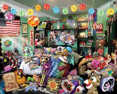 Clean Your Room (1000 Piece Puzzle by White Mountain)