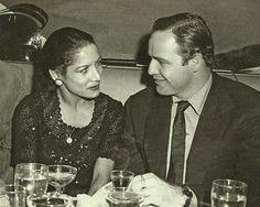 Carmen Amaya with Marlon Brando
